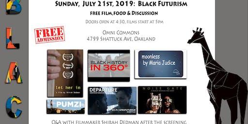 Free Film + Food + Discussion - BLACK Futurism: Afrofuturist Short Films