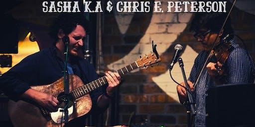 SASHA & CHRIS -Special Edition Original Music Night Fri 8/2 5:30p