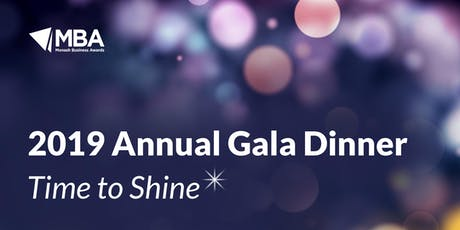 Time to Shine - 2019 Annual Gala Dinner tickets
