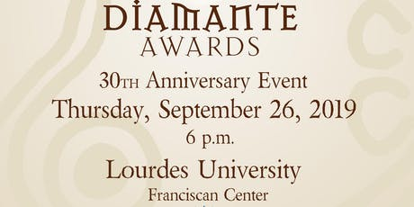 30th Anniversary Diamante Awards tickets