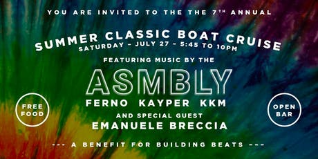 The Seventh Annual Summer Classic Boat Cruise tickets