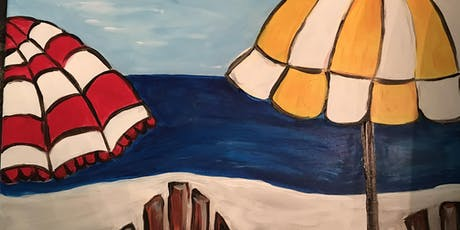 Easy Easels-  Feeling Beachy- Painting Class tickets