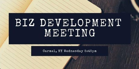 Carmel NY Local Biz Development Meetings tickets
