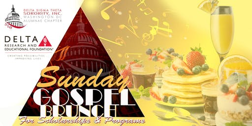 DST WDCAC & DREF Sunday Gospel Brunch