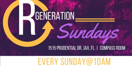 Regeneration Sundays(Jacksonville, FL) tickets