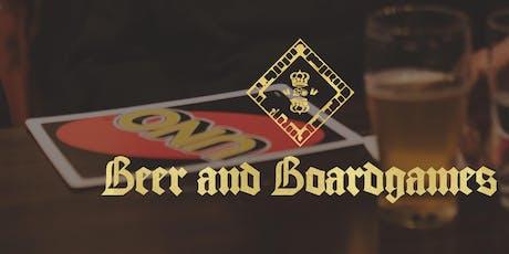 Beer & Board Games Beer Pong tickets