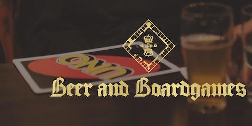 Beer & Board Games Beer Pong