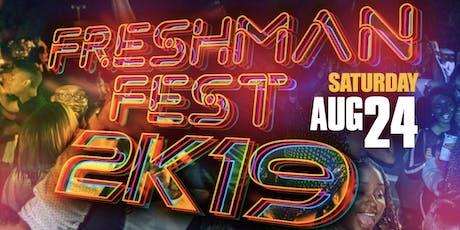 FRESHMAN FEST 2K19 @ PLAY 8.24 Tallahassee FSU FAMU TCC tickets