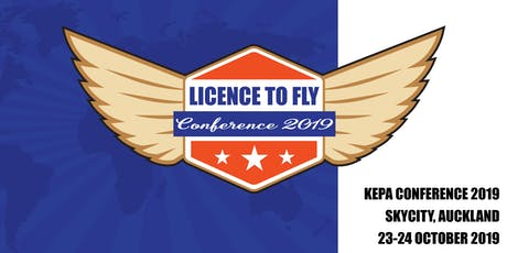 Licence to Fly | 2019 Kepa Conference tickets