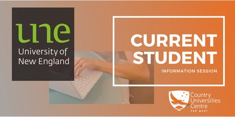 UNE Current Students tickets