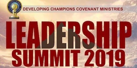 Developing Champions LEADERSHIP SUMMIT 2019 tickets