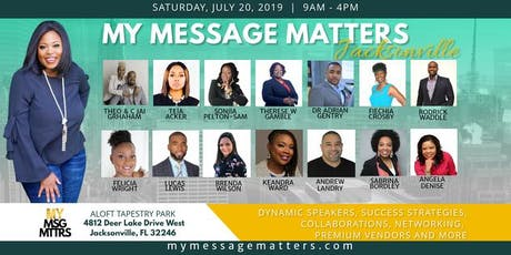 My Message Matters - JACKSONVILLE tickets