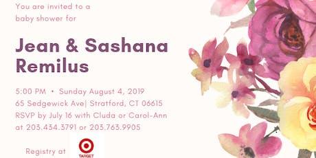 Jean and Sashana's Baby Shower tickets