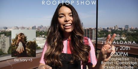 Rooftop Show: Jen Aldana // Ele Ivory  tickets
