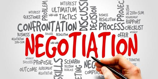 Negotiations Skills Course - Fall 2019