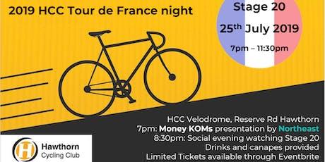 2019 HCC & Northeast Tour De France night! tickets