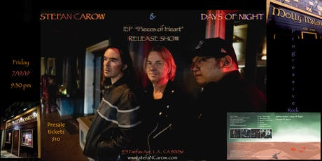 Stefan Carow & Days of Night: CD Release Show tickets