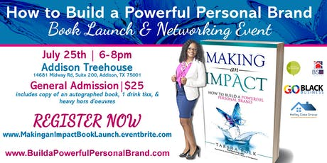 How to Build a Powerful Personal Brand Book Launch & Networking Event tickets