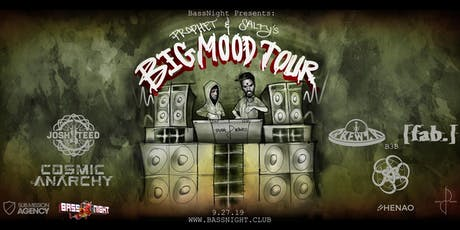 BassNight Presents: Prophet & Salty's Big Mood Tour at The Henao Center! tickets