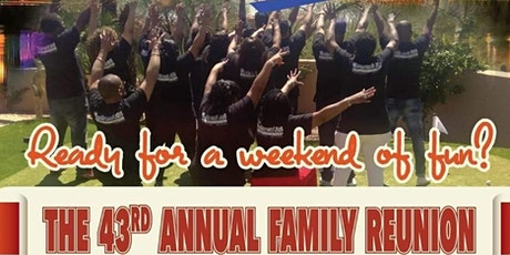 WESLEY-COOPER 43RD ANNUAL FAMILY REUNION  tickets