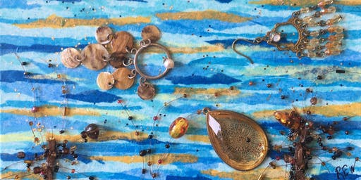 Mixed Media Worksop: Using Jewelry in an Underwater Seascape