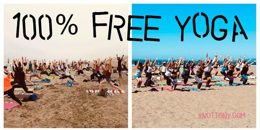 Free Yoga on San Francisco's Ocean Beach | 2019