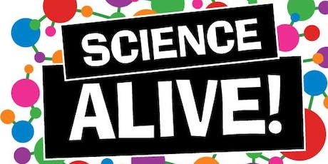 Science Alive! 2019 Launch tickets