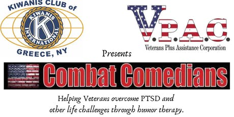 Combat Comedians - Healing through humor tickets