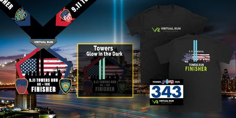 2019 - September 11th Memorial Towers Virtual Run Walk - Houston tickets