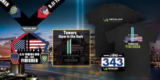 2019 - September 11th Memorial Towers Virtual Run Walk -  Independence