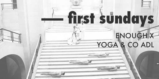 First Sundays | yoga + sweet tunes