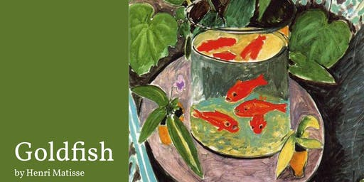 Paint & Sip with Oils: Goldfish by Henri Matisse