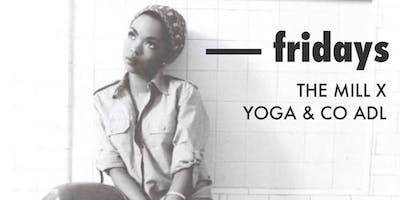 Fridays | yoga + sweet tunes