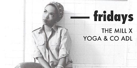 Fridays   yoga + sweet tunes tickets