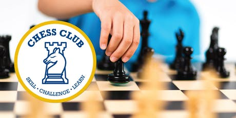 Chess Club - AGES 8yrs + ONLY tickets