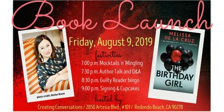 THE BIRTHDAY GIRL book launch party tickets