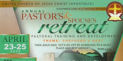 UCJC Pastor's Retreat
