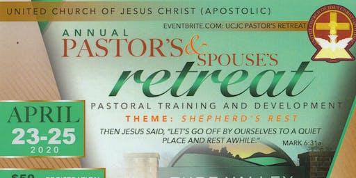 UCJC Pastor's Retreat