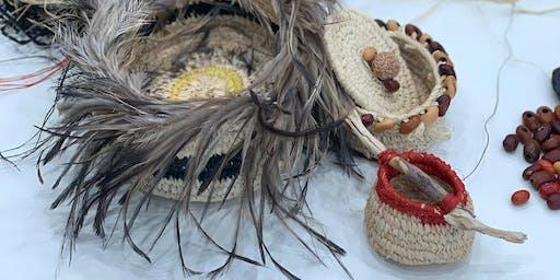 School Holiday Children's Basket weaving class
