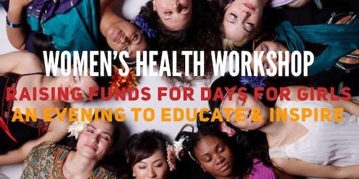 Women's Health Workshop Fundraising Event
