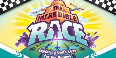 VBS: The Incredible Race! tickets