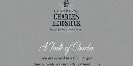 Charles Heidsieck Chapmagne Dinner W/ Ned Goodwin MW tickets