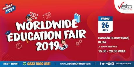Worldwide Education Fair 2019 Denpasar - Ramada Bali Sunset Road tickets
