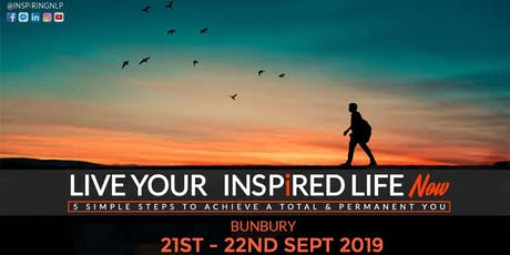 Live Your Inspired Life NOW! tickets
