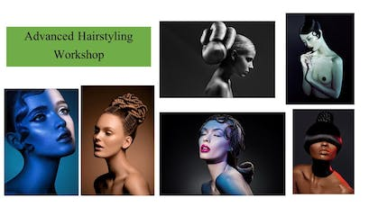 Hair Styling Workshop for Hairstylists & Makeup Artists tickets