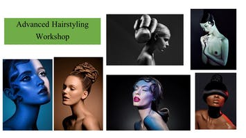 Hair Styling Workshop for Hairstylists & Makeup Artists