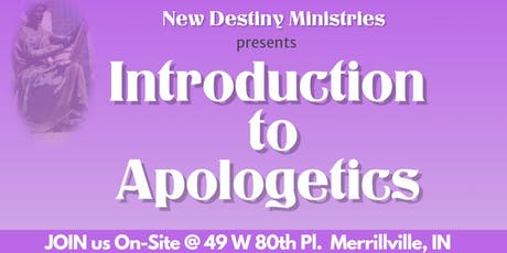 Introduction to Apologetics tickets