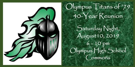 Oly Titans Class of '79 / 40 Year Reunion / SATURDAY EVENING EVENT ONLY tickets