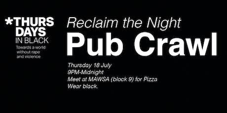 MAWSA Re O'Week Reclaim the Night Pub Crawl tickets