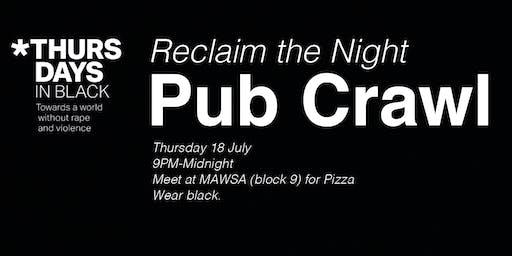MAWSA Re O'Week Reclaim the Night Pub Crawl